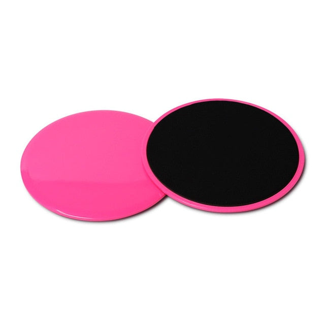 2Pcs Multifunctional Sliding Fitness Disk