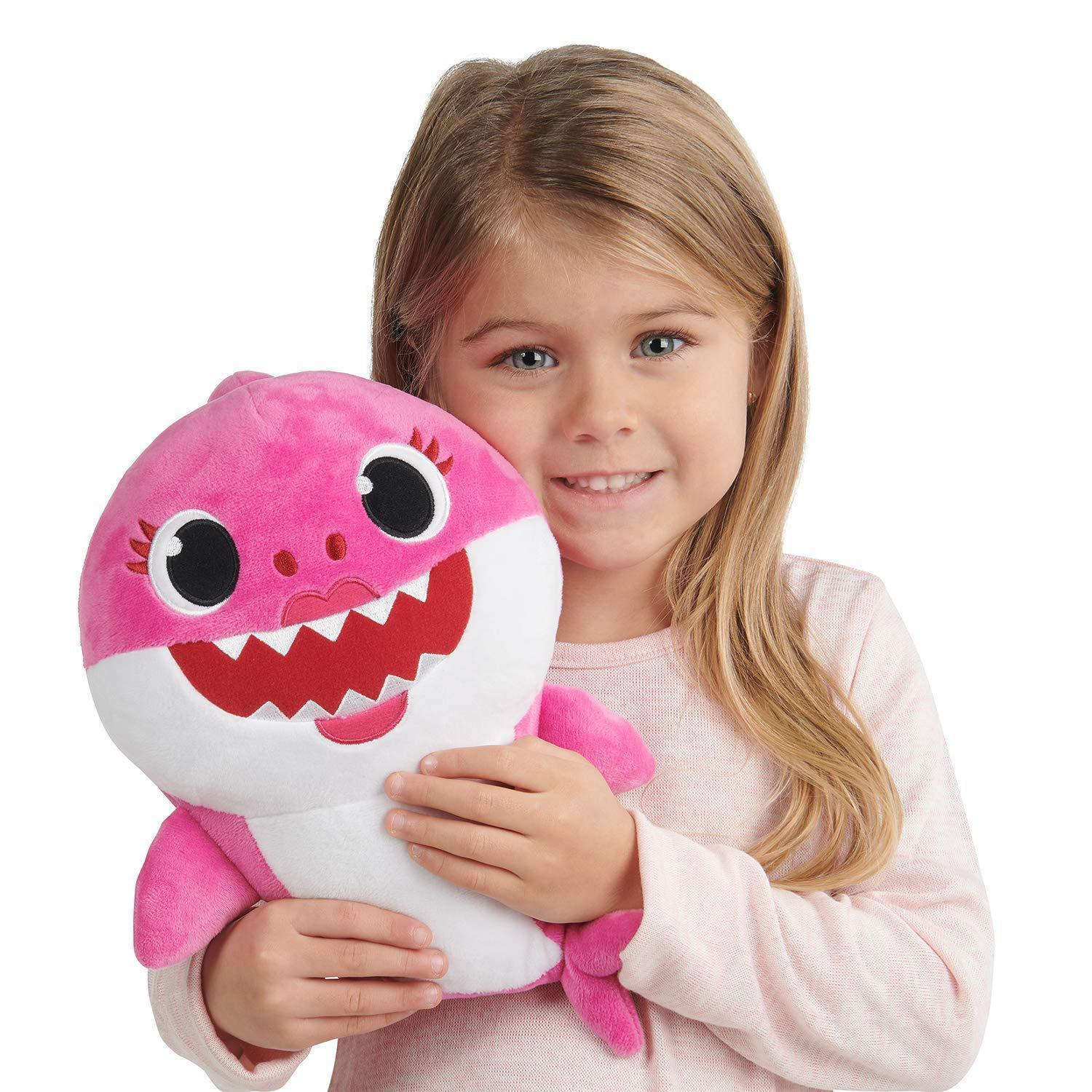 Singing Baby Shark Plush Toy
