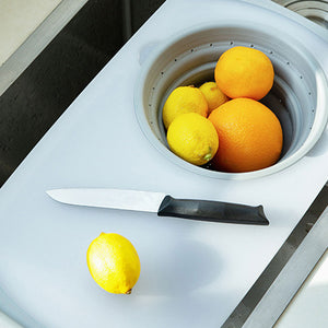Kitchen multifunctional thick plastic chopping board