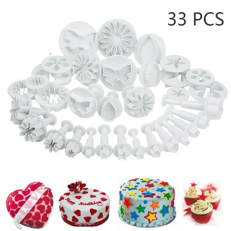 33 Pcs Christmas Cookies Cutters