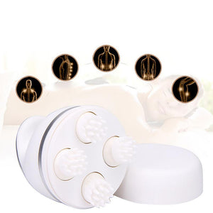 3D ELECTRIC SILICONE HEAD MASSAGER