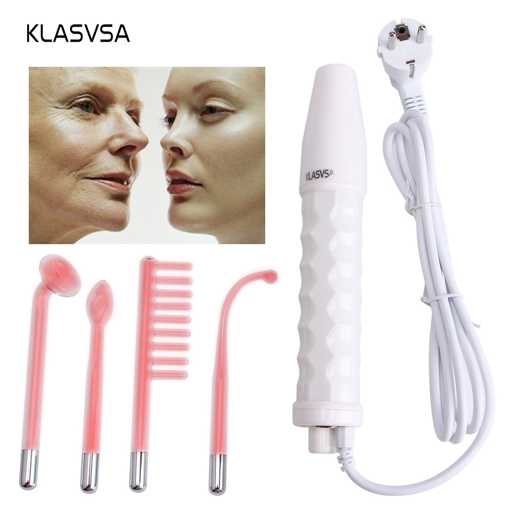 Portable  High Frequency Facial Wand Machine Wrinkle, Spot, Acne & Mole Eraser