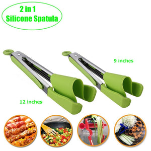 Clever Tongs 2-in-1 Kitchen Tool
