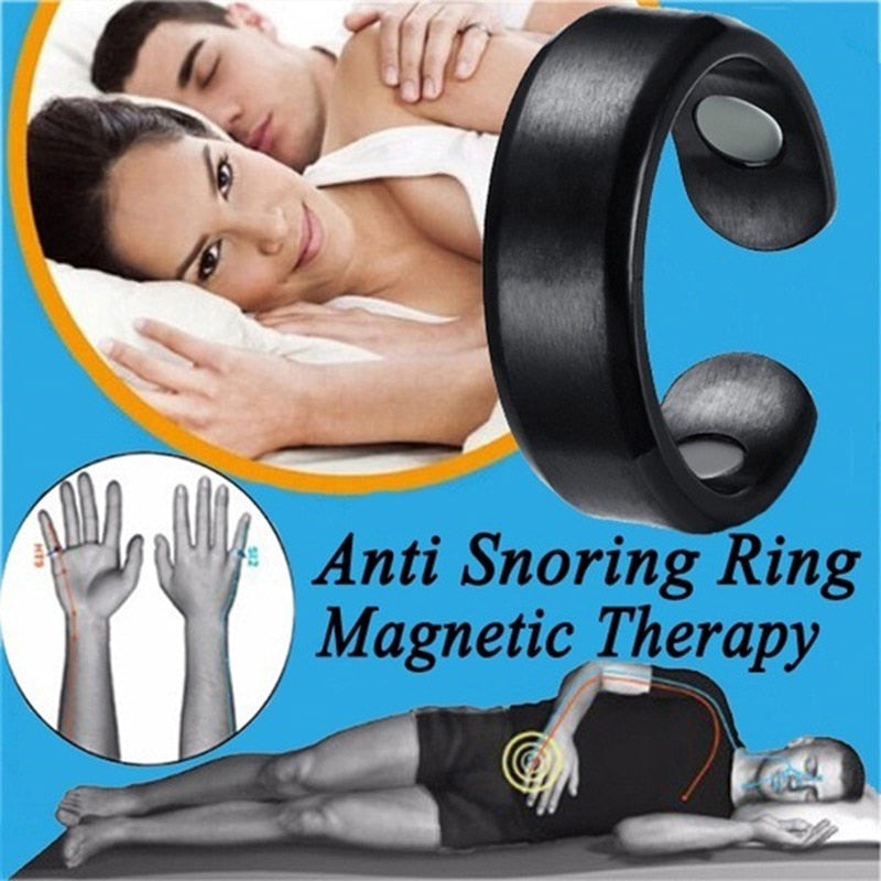 Acupressure Anti Snore Titanium Ring