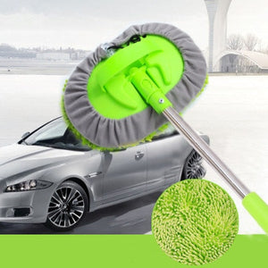 Multifunctional 2 in 1 Chenille Microfiber Car Wash Mop