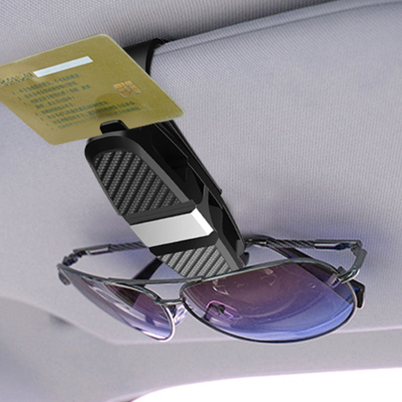 Carbon Fiber Glasses Clips Holder