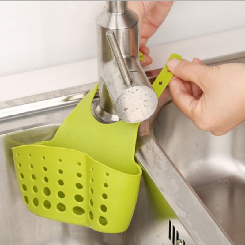 Adjustable Press-button Storage Basket