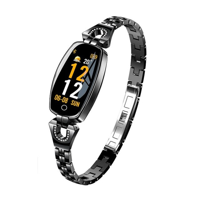 Women's fashion smartwatch heart rate blood pressure monitor