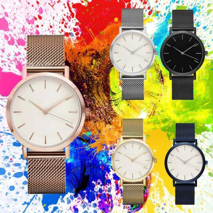 Stylish Thin Dial Men Watch