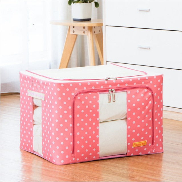 Waterproof Foldable Clothing Quilt Storage Bag Organizer