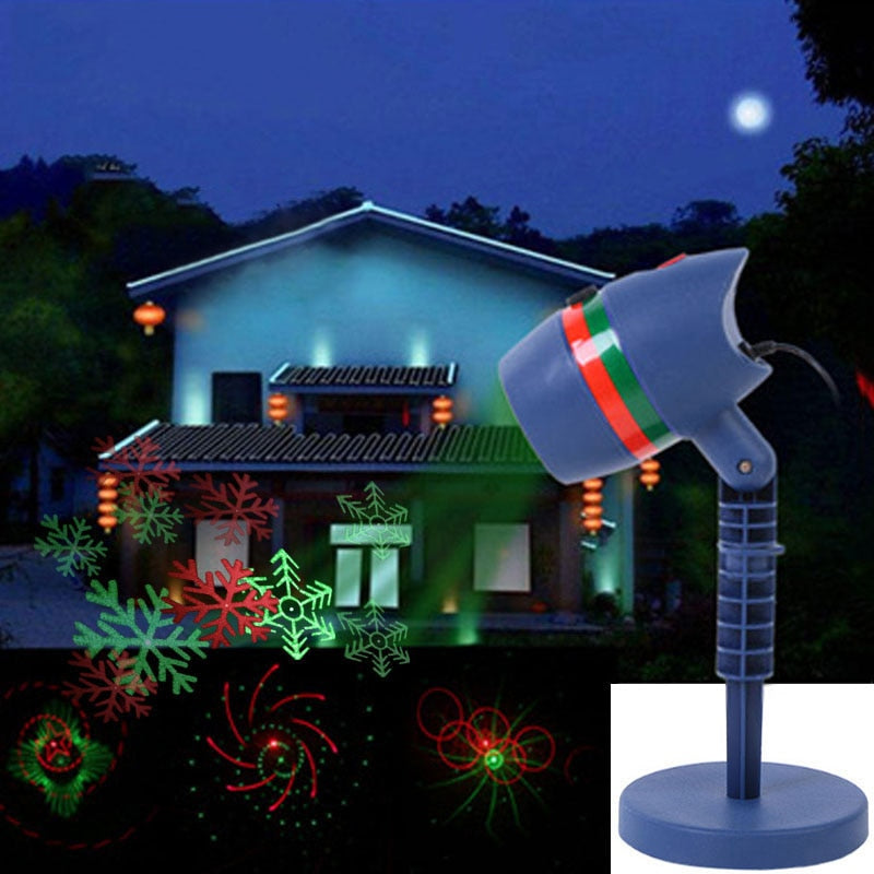 Christmas Laser Fairy Light Projector