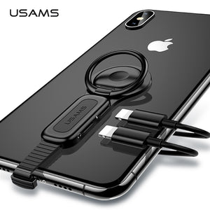 Dual Lightning Ring Holder Adapter for IPhone