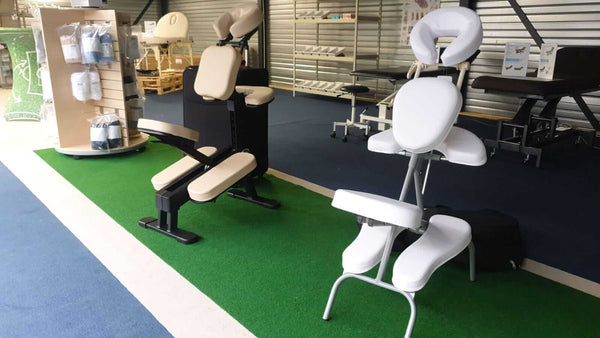 massagestoelen showroom