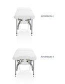 ZENGROWTH Massagetafel Artarmon II Wit 71cm