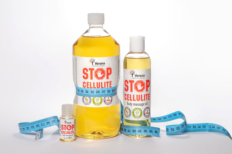 Verana Stop Cellulite Massageolie 1L