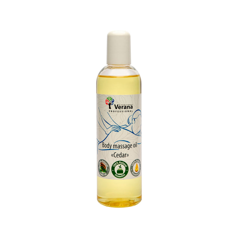 Verana Massageolie Ceder 250ML