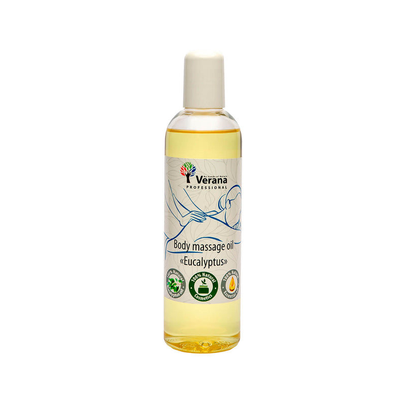 Verana Antivirale Massageolie Eucalyptus 250ML