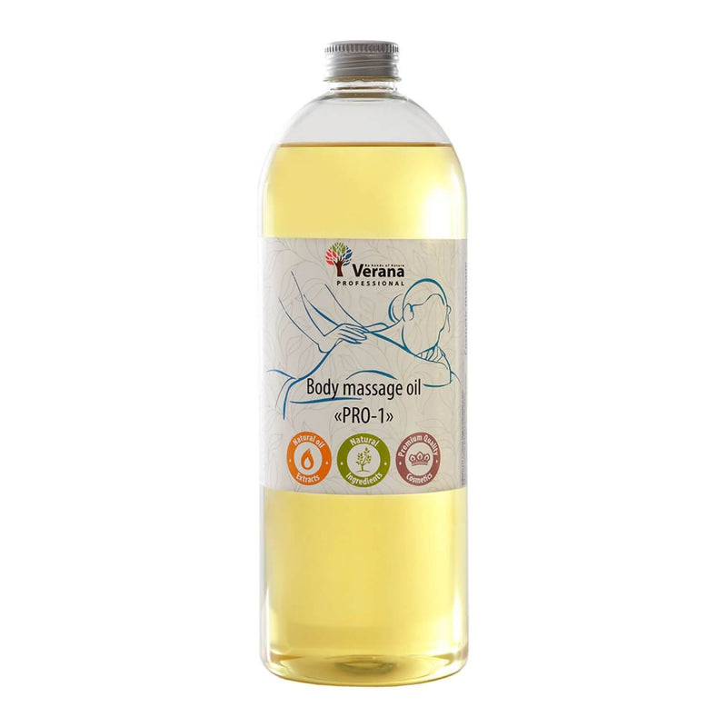 Verana Neutrale Massageolie Pro-1 1L-DeMassageWinkel