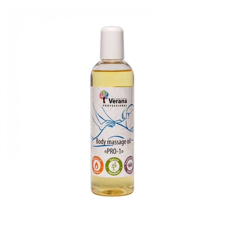 Verana Neutrale Massageolie Pro-1 250ML-DeMassageWinkel