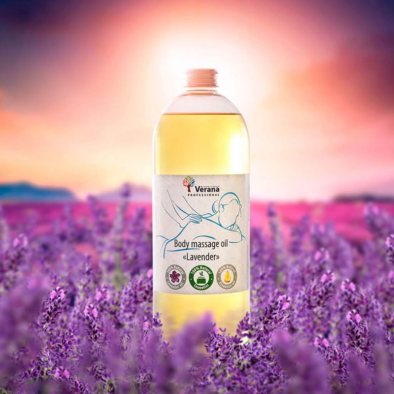 Verana Massageolie Lavendel 1L-DeMassageWinkel