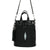 Stingray Black Bucket Bag