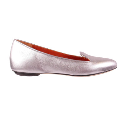 Handmade Silver Loafers - Bohology