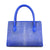 Cobalt Blue Stingray Tote Bag