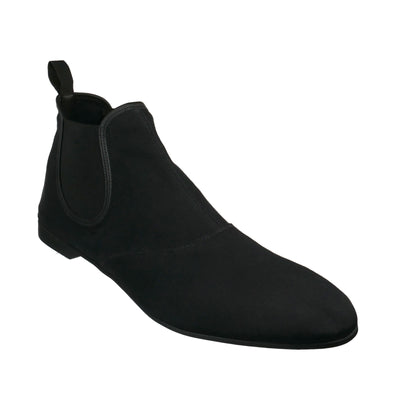 Fabric Ankle Boots (size UK 12/ EU 46) - Bohology