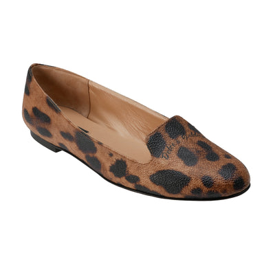 Leopard Printed Loafers - Bohology