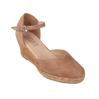 Beige Wedges Espadrilles (EU36 and 37)