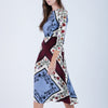 Printed Silk Dress (Size XS)