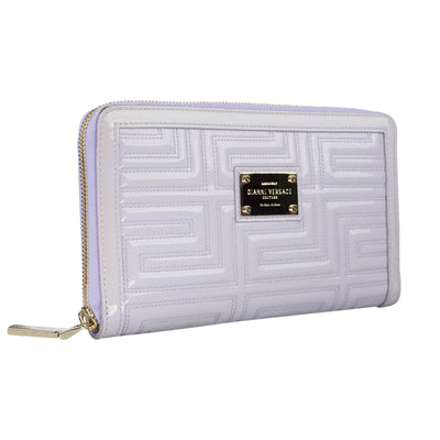 Patent Lilac Large Wallet