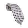 White Silk Tie - Bohology