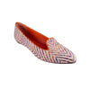 Multicolor/White Handmade Loafers - Bohology