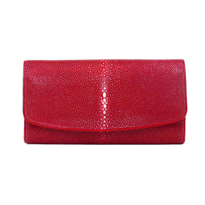 Cherry Red Stingray Wallet - Bohology