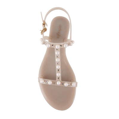 Pearls And Swarovski Sandals - Bohology