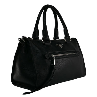Black Biker Bag - Bohology