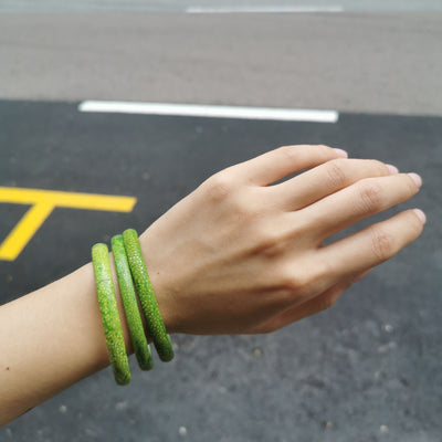 Mini Green Stingray Bracelet