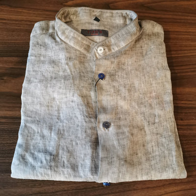 'Dirty' Beige Linen Shirt