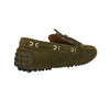 Army Green Suede Loafers (Size UK7/ EU41)