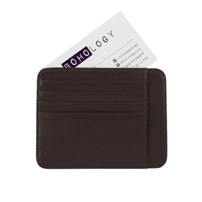 Brown Smooth 'Naked Wallet'