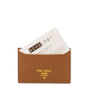 Beige 'Saffiano' Cards Holder