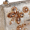 Capri Gold Jewel Insects Bag