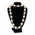 Big Pearls And Crystals Necklace