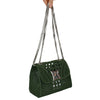 Mini Army Green Woven Rubber Bag