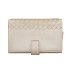 Knot Pearly Cream Wallet
