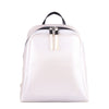 Pearly White Rubber Backpack