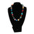 Multicolor Natural Crystals Necklace