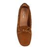 Biscuit Brown Suede Loafers (EU 35)