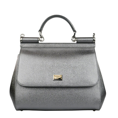 Silver 'Miss Sicily' Bag